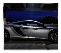 Mclaren Mp4-12c Side View Fleece Blanket