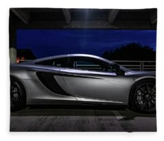 Mclaren Mp4-12c Side View Fleece Blanket