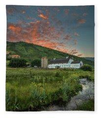 Mcpolin Sunrise Fleece Blanket