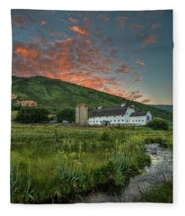 Mcpolin Sunrise Fleece Blanket
