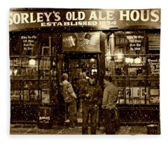 Mcsorley's Old Ale House Fleece Blanket