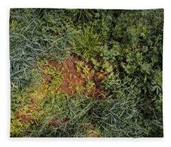 Meadow Floor Fleece Blanket