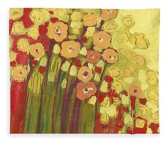 Meadow In Bloom Fleece Blanket