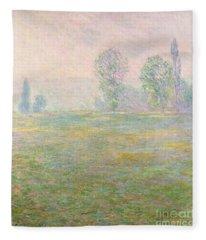 Meadows In Giverny Fleece Blanket