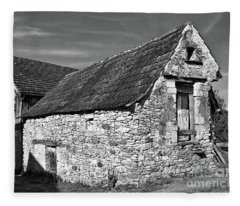Medieval Country House Sound Fleece Blanket