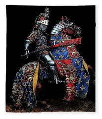 Medieval Knight - 02 Fleece Blanket