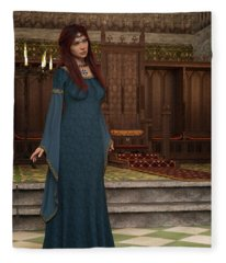 Medieval Queen Fleece Blanket
