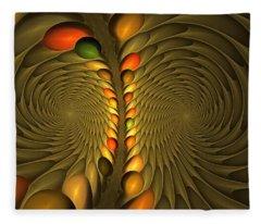 Meditirina Seed Pod Fleece Blanket