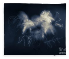 Medusas Light Fleece Blanket