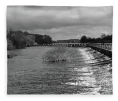 Meelick Weir Fleece Blanket