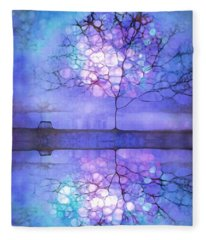 Meet Me At Twilight Fleece Blanket