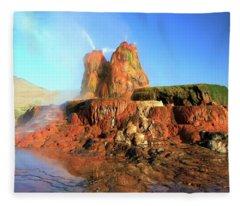 Meet The Fly Geyser Fleece Blanket