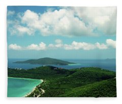 Megan's Bay St. Thomas Fleece Blanket