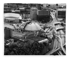 Mellon Arena  Fleece Blanket