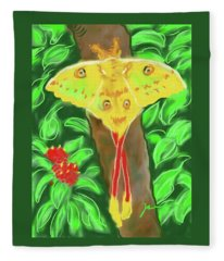 Mellow Yellow Fleece Blanket