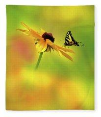 Mellow Yellow Fleece Blanket