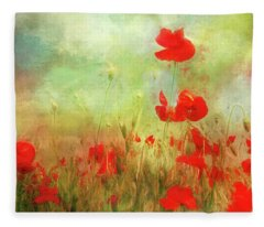 Melody Of Summer Fleece Blanket