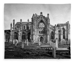 Melrose Abbey Fleece Blanket