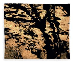 Melted Chocolate Fleece Blanket