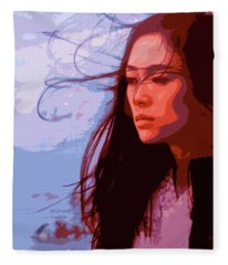 Memoirs Of A Geisha Fleece Blanket