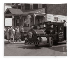Memorial Day Parade  Ashley Pa  Corner Of W Hartford And Brown  Circa 1965 Fleece Blanket