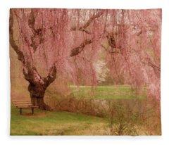 Memories - Holmdel Park Fleece Blanket