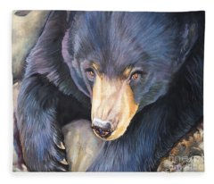 Memories Of Green Fleece Blanket