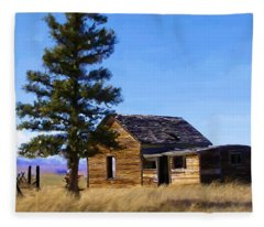 Memories Of Montana Fleece Blanket