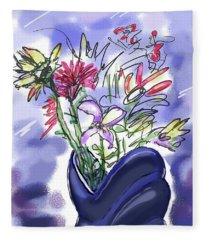 Memory Of Spring Fleece Blanket