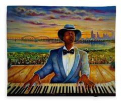 Memphis In May  Fleece Blanket