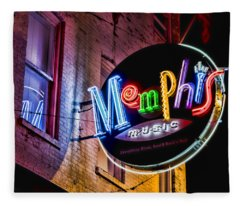 Memphis Music Fleece Blanket