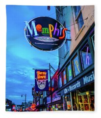 Memphis Soul Fleece Blanket