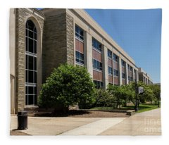 Mendel Hall Fleece Blanket