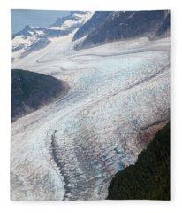Mendenhal Glacier Fleece Blanket