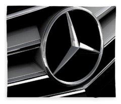 Mercedes Badge Fleece Blanket
