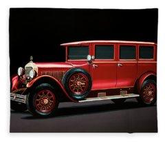 Mercedes-benz Typ 300 Pullman Limousine 1926 Painting Fleece Blanket