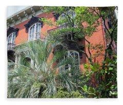 Mercer Williams House-savannah Ga Fleece Blanket