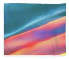 Merging Fleece Blanket