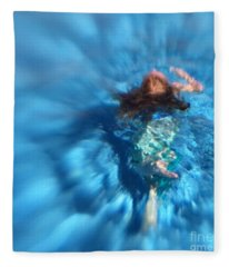 Mermaid Caroline Fleece Blanket