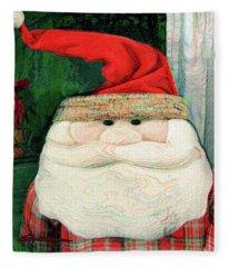 Merry Christmas Art 14 Fleece Blanket