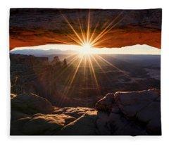 Sunrise Fleece Blankets
