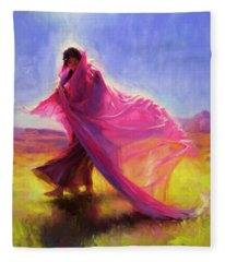 Mesa Walk Fleece Blanket