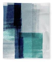 Mestro 5- Art By Linda Woods Fleece Blanket