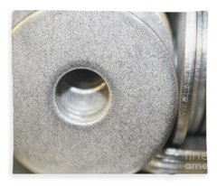 Metal Washers - All That Glitters Fleece Blanket