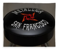 Metallica Bar Stool Fleece Blanket
