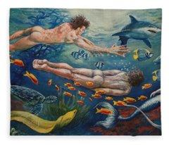Metamorphosis Fleece Blanket