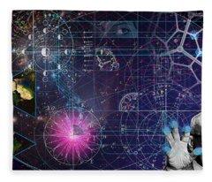 Metaphysical Gravity Fleece Blanket