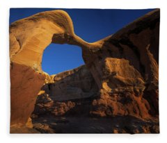Metate Arch Fleece Blanket