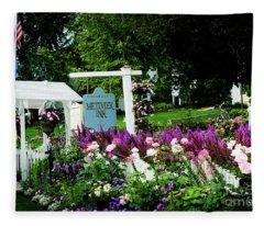 Metivier Inn Fleece Blanket