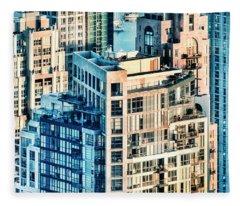 Metropolis Fleece Blanket
